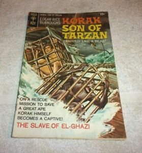 Old Golden Key Bronze Age Comic Book Korak Son Of Tarzan # 35 1970 4.5
