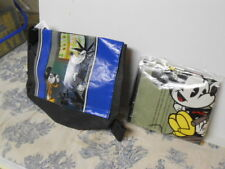 2 Different Vtg. 2015 Subway Kids Toys: Disney / Mickey Mouse Tote Bags