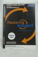 Mastering Biology w Pearson eText Student Access Code Card for Campbell Biology