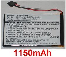 Batterie pour MIO C320 C520 C520t C620 C810 BP-LX1320/11-B0001 E4MT191323H12