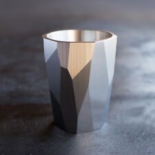 UNION Faceted Shot Glass 1.5oz (Solid Stainless Steel)