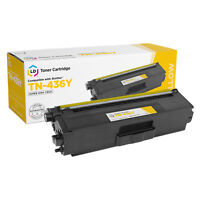 LD Compatible Brother TN436 / TN436Y Super High Yield Yellow Toner Cartridge