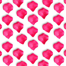1000pc PINK Artificial Rose Petal Valentines Day Proposal Decor DIY Craft Supply