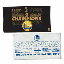 2018 NBA Champions Golden State Warriors Back to Back Locker Room Towel