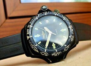 Breitling EXPLORER 80940 Navy Seal Herren Uhr Stahl COMPASS REVISED DOCTOR WATCH