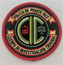 PUERTO RICO CSI POLICE PATCH