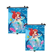 2x Original la Frozen Disney Princesas Coche Parasol enrollable ventana ciega para niños