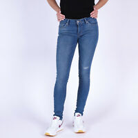 Levi's 711 Skinny Damen Blau Jeans DE 36 US W28 L32