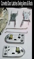 Corvette Parts  1958 1959 1960 1961 1962 Door Strikers Swing Arms & Rods 1956 57