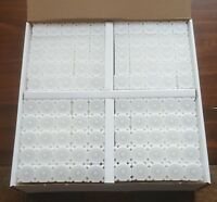 One Brand New Box of 100 Coinsafe Stackable Durable Hard Plastic Dime Tubes!!