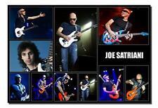 Joe Satriani Poster 13x19 Inch Collage Series | Photo Quality Color Print