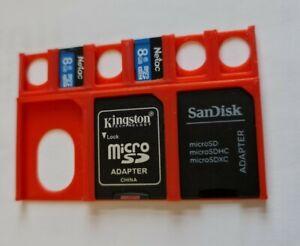 Wallet SD / Micro SD Card Holder Desk Tidy