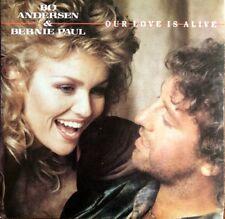 """Bo Andersen & Bernie Paul - Our Love Is Alive - Vinyl 7"""" 45T (Single)"""