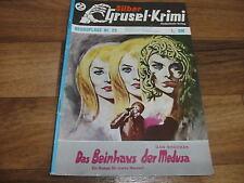 LARRY BRENT  im SILBER GRUSEL-KRIMI  25  -- BEINHAUS der MEDUSA // DAN SHOCKER