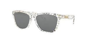 Oakley Frogskins Metallic Splatter Sunglasses OO9013 9013G1 Brand NEW
