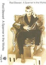 Rod Stewart  Spanner In The Works CASSETTE ALBUM Warner Bros Classic Rock 1995