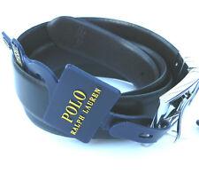 NEW men's RALPH LAUREN POLO RL REVERSIBLE leather  black belt XL 40