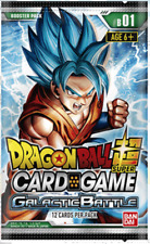 Dragon Ball Super Card Game - Galactic Battle Boosters Packs (x1 Pack)