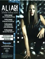 ALIAS SEASON 2 Sale Sheet  - JENNIFER GARNER - SELL SHEET