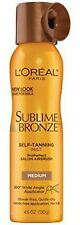 L'Oreal Sublime Bronze Self-Tannning Mist, Medium Natural Tan 4.6 (2 Pack)