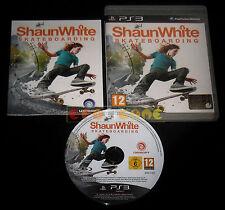 SHAUN WHITE SKATEBOARDING Ps3 Versione Ufficiale Italiana ••••• COMPLETO