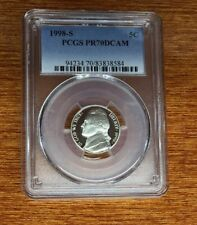 1998-S Jefferson Nickel 5c PCGS PR 70 DCAM