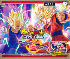 Dragon Ball Z Super Themed S2 World Martial Arts Tournament Booster Display