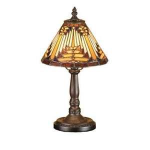 Meyda Lighting 14'H Nuevo Mission Mini Lamp, Beige Hag 59R Xag - 66223