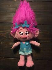 "Trolls Poppy Plush Stuffed Animal Toy Doll 17"" DreamWorks Used Very Clean"