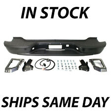 NEW Primered - Complete Rear Bumper for 2000-2006 Chevy Tahoe Suburban Yukon XL