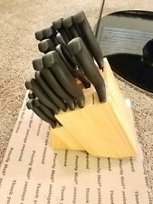 simply perfect 23pc stainless steel   knife set