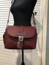 New damsel in defense crossbody Burgundy 3ebcf4951a527