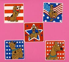 15 Scooby Doo Fourth of July - Large Stickers - Party Favors - Rewards