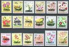 République du Congo - 382/399 - Fleurs - Flowers - 1960 - MNH