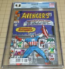 DEFENDERS vol.5 #6  CGC 9.8  (2017)- AVENGERS #16 Lenticular Cover Homage (Marve