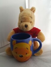Winnie the Pooh Disney Store exclusive Mug and comforter toy