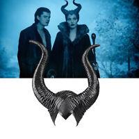 Halloween Hat Horns Cosplay Maleficent Evil Queen Headpiece Headwear CostuÁÍDN