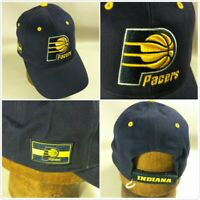 NEW NBA Indiana Pacers Basketball Cotton Hat Cap Strapback 3-D Embroidered Logo