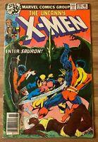 UNCANNY X-MEN #115 (Marvel 1978) Sauron ~Ka-Zar~ Zabu~Claremont~Byrne~Bronze Age