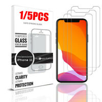 1/5X For iPhone 11, 11 Pro, 11 Pro Max TeckRoot Tempered Glass Screen Protector
