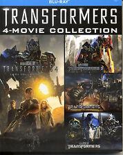 TRANSFORMERS - Quadrilogia (5 Blu-Ray ) - COF. BLU RAY NUOVO