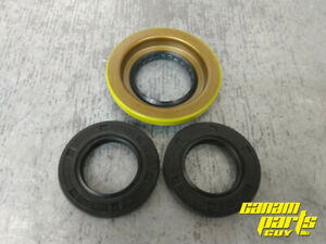 Can Am Standard 52mm Rear Differential Axle Pinion Seal SET Diff 1652 Double Lip