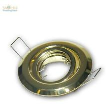 Brass Recessed Light Mr11 12v Rotatable Spotlight Mounting Frame