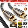 PREMIUM HDMI Cable v2.0 HD High Speed 4K 2160p 3D Lead 1m/2m/3m/5m/10m/15m/20m