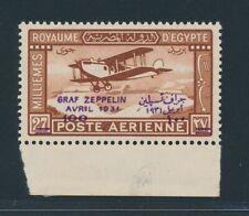 "EGYPT 1931, Mi. 157 **/MNH, ""Zeppelin"", very fine!! Mi. 130,--!!"