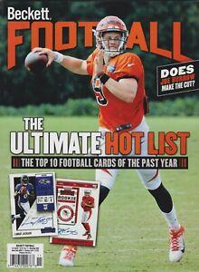 Football Beckett Price Guide Magazine November 2020 Joe Burrow