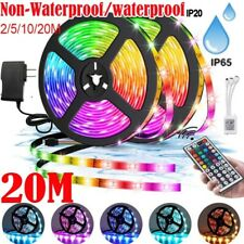 20M LED Strip Light 2835 SMD RGB 60Leds/m Waterproof WIFI Controller 12V 44keys