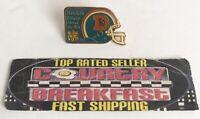 Denver Broncos Kodak Official Film NFL Football Hat Lapel Pin 1989 - Nice!