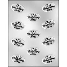 CELEBRATING LOVE WITH BELLS WEDDING BRIDAL CHOCOLATE CANDY MOLD PARTY FAVORS