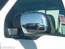FORD F-250/F-350 SUPER DUTY 1999-2007 TFP CHROME ABS STANDARD MIRROR COVER SET